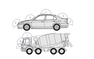 Как установить антенну для радиостанции на автомобиль.