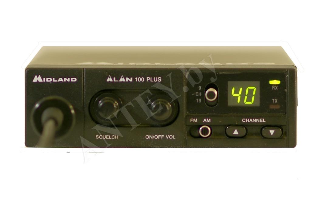 Обзор портативной радиостанции Midland Alan 42 + видео ...