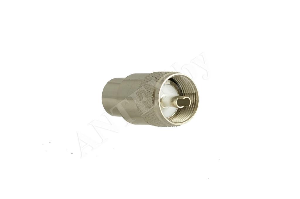 Разъем PL 259 11 мм (UHF male)