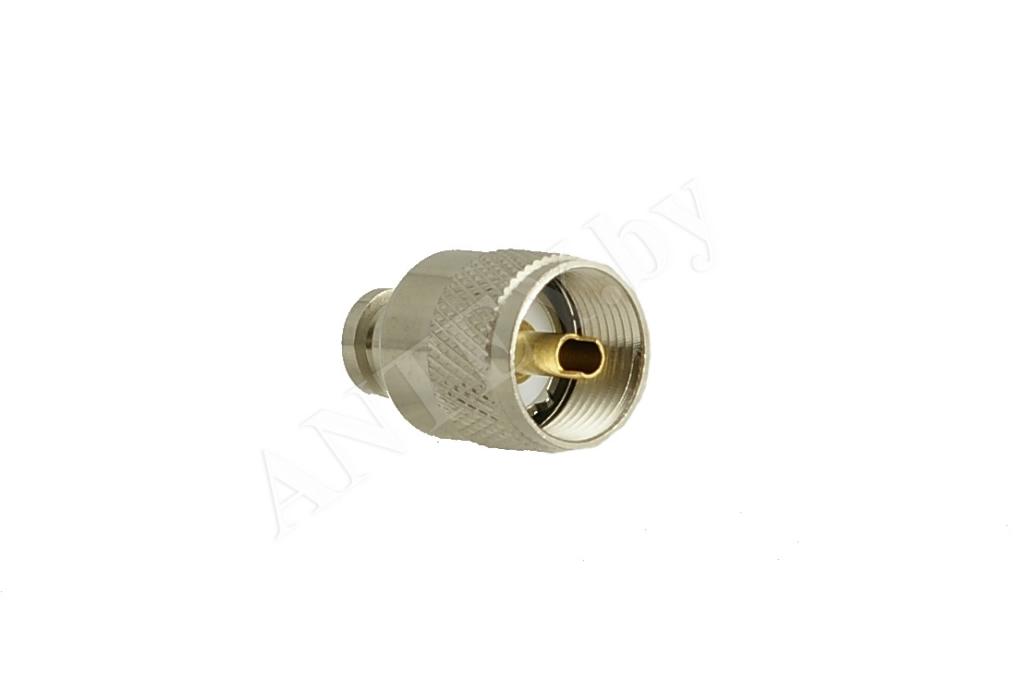 Разъем PL 259 6 мм (UHF male)