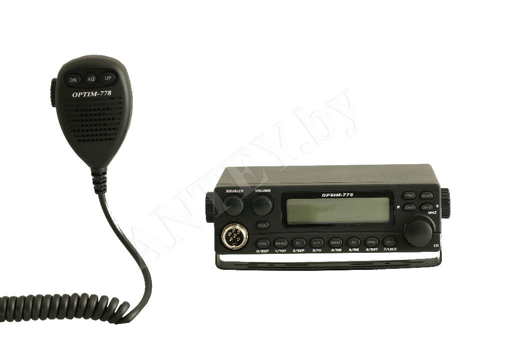Новая ревизия радиостанции Optim 778: rev 3.1