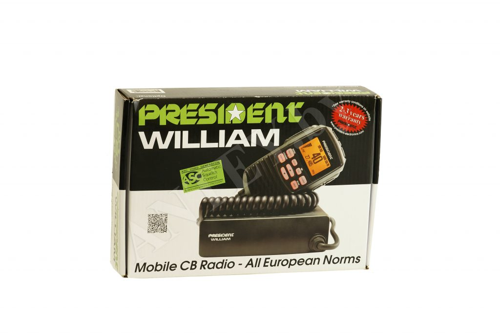 Стильный компактный набор от President радиостанция William и антенна Virginia