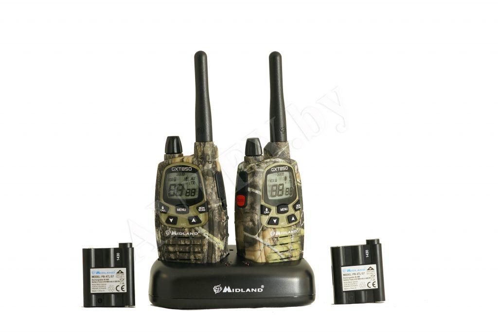 Комплект портативных радиостанций MIDLAND GXT-850