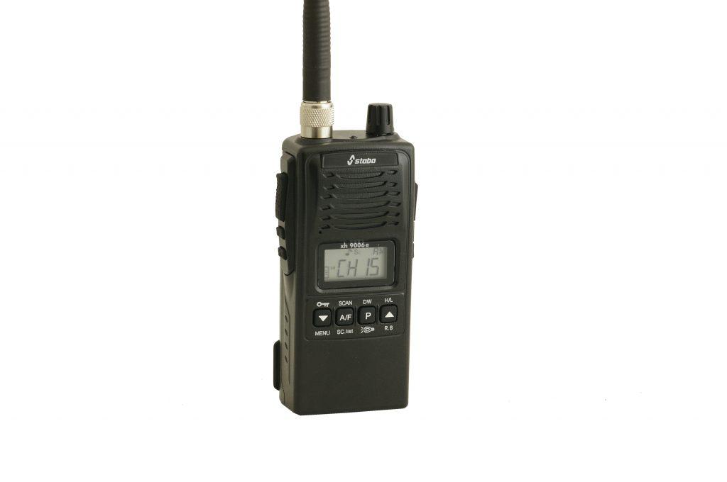 Новая портативная CB радиостанция Stabo xh9006e