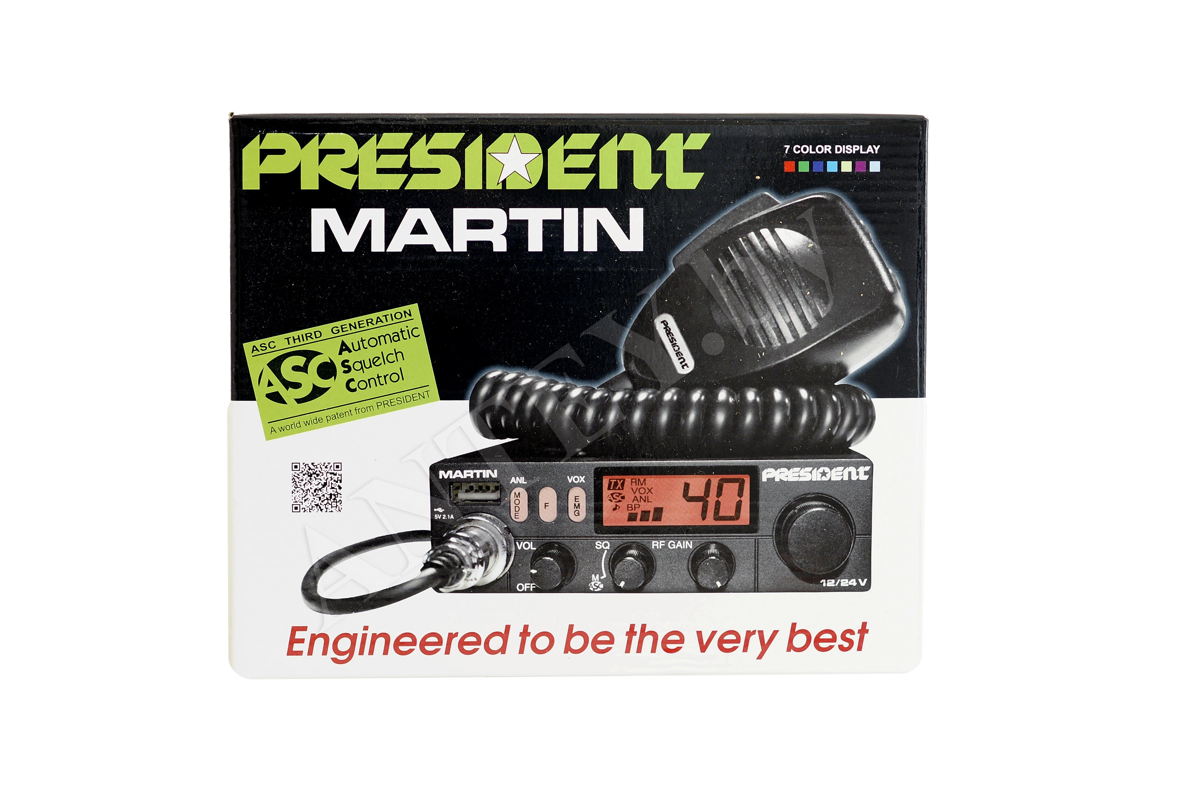 Радиостанция President Martin ASC