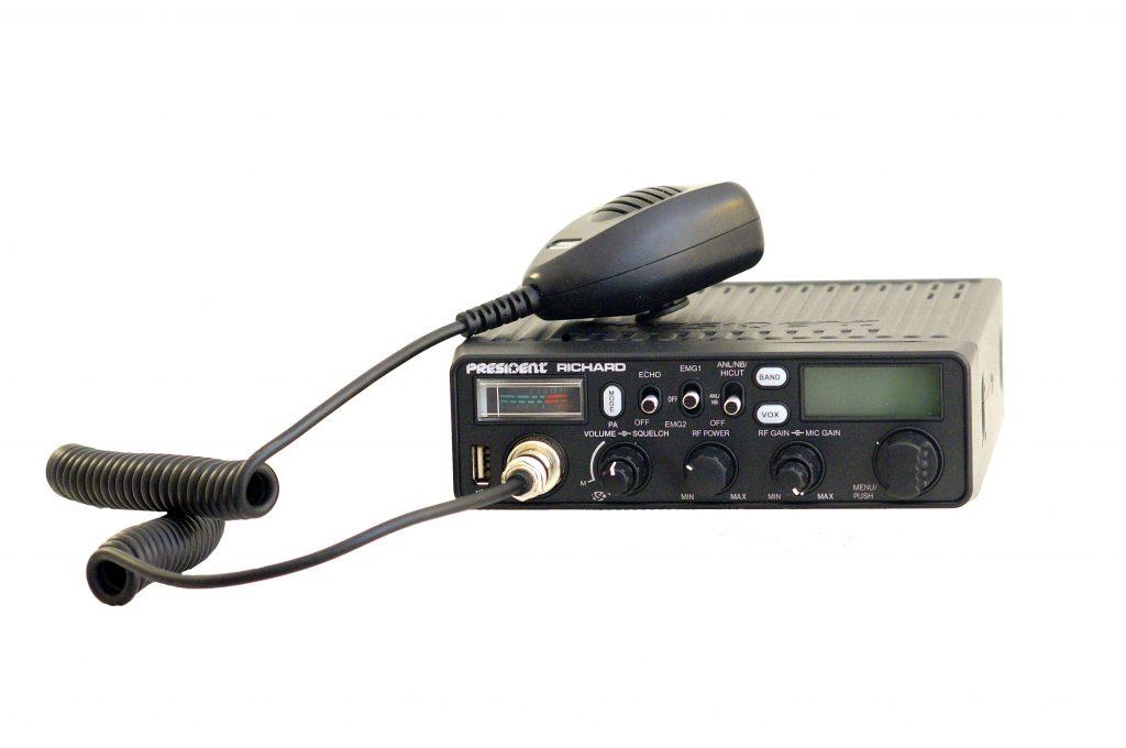 Любительская радиостанция President Richard