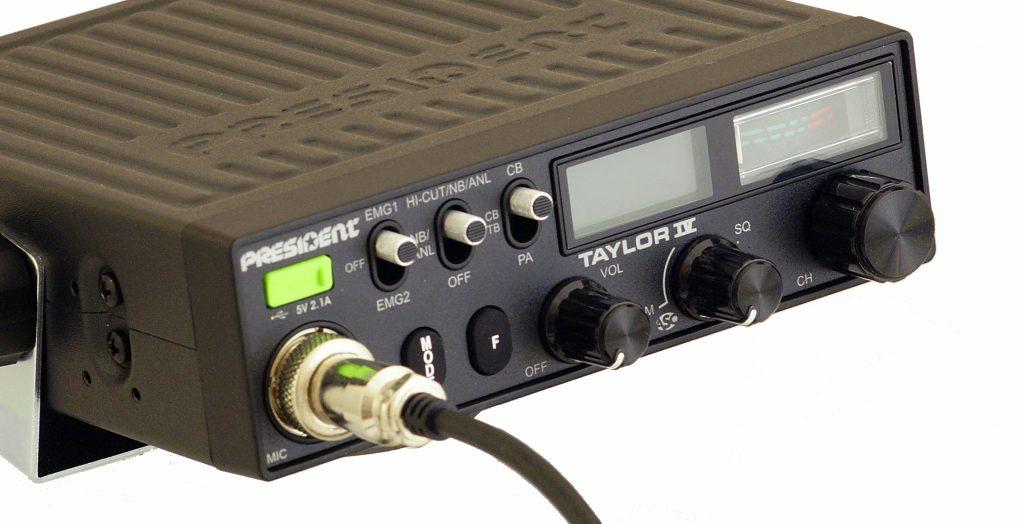Классическая радиостанция President Taylor 4