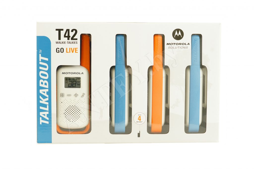 Motorola Talkabout T42 quad pack