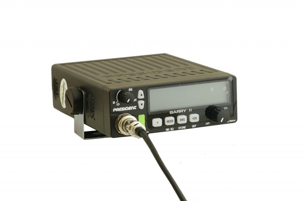 President Barry 2 — новая радиостанция с активацией голосом
