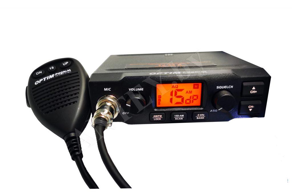 Доработанная радиостанция Optim PILGRIM